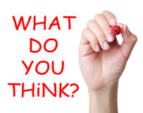 what-do-you-think-hand-writing-red-marker-transparent-wipe-board-42137293